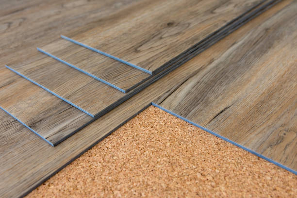 How should you take care of the vinyl floors?